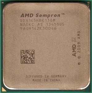 AMD Sempron 145 2.8GHz AM3 CPU